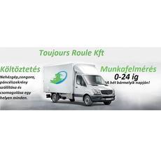Toujours Roule Kft. - költöztetés