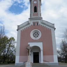 Csepel-Belvárosi Kisboldogasszony Templom (forrás: miserend.hu)
