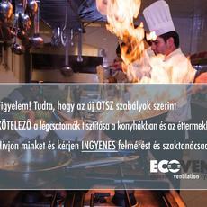 Ecovent System Kft.: Kötelező légcsatorna tisztítás ipari konyhákban, éttermekben!