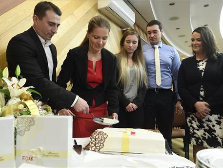 Torta is volt (fotó: Koszticsák Szilárd – MTI)