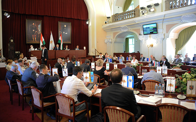 Kép a szerdai közgyűlésről, fotó: budapest.hu