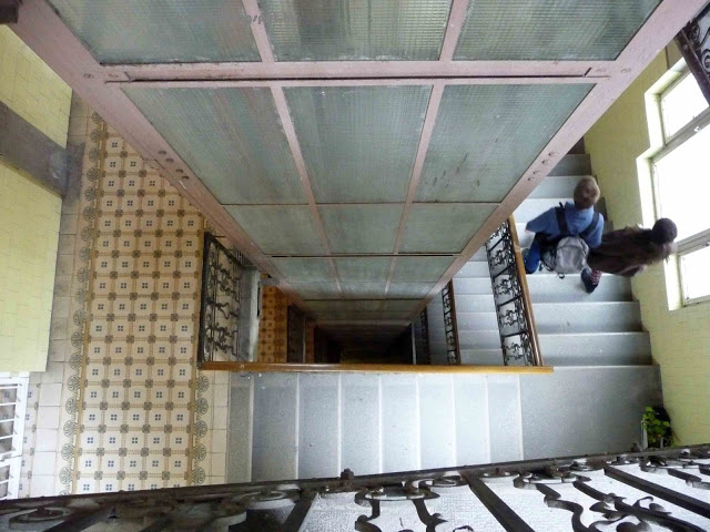 Belvárosi lépcsőház (fotó: kep-ter.blogspot.hu)