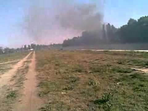 Kép a 2012-es Francia-öböl-béli tűzről