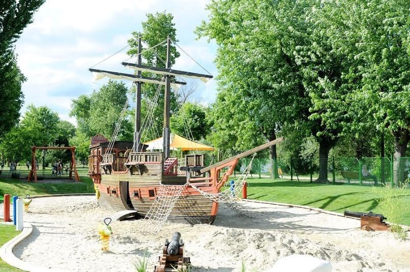 Bővítik a játszóteret (forrás: Csepeli Városgazda)